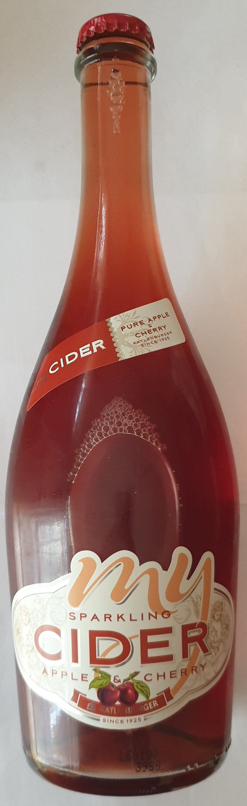 my cider pure apple & cherry - Product - de