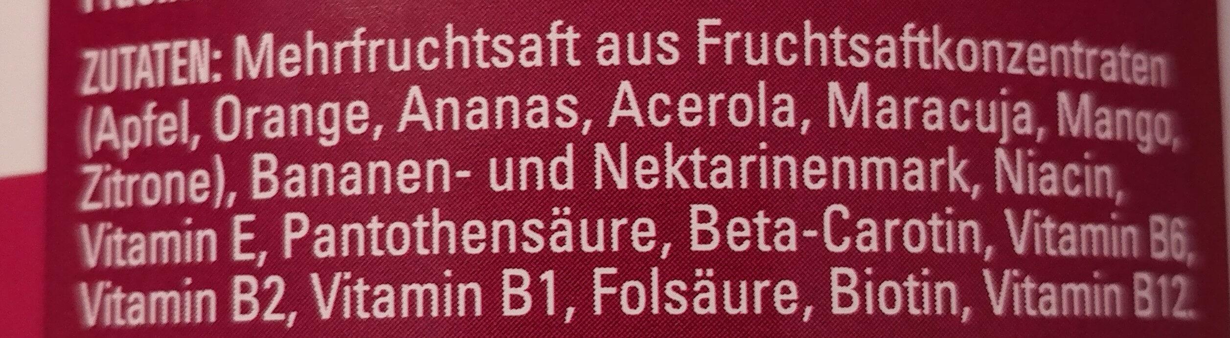 Multivitamin - Ingredients - de
