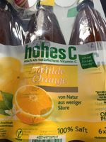 Hohes C Milde Orange - Product