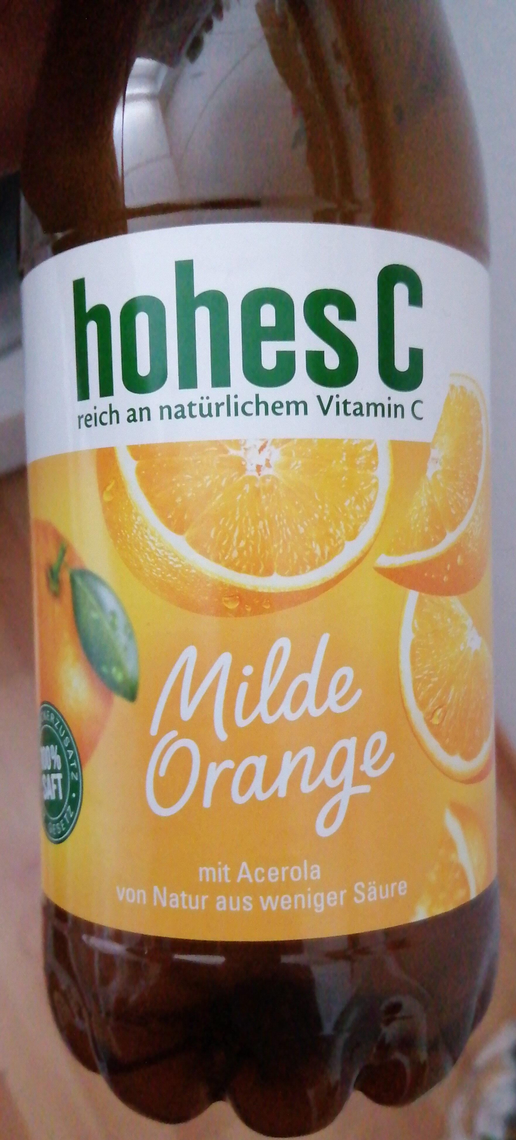 Milde Orange - Product - de