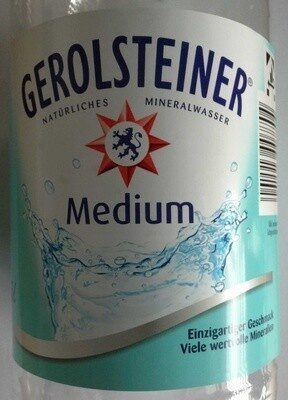 Gerolsteiner Medium - Produkt - de