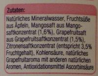 Linée Mango-Grapefruit - Ingrediënten