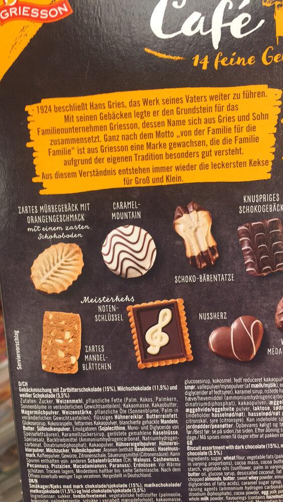 Café Musica 14 feine Gebächspezialitäten - Prodotto - fr