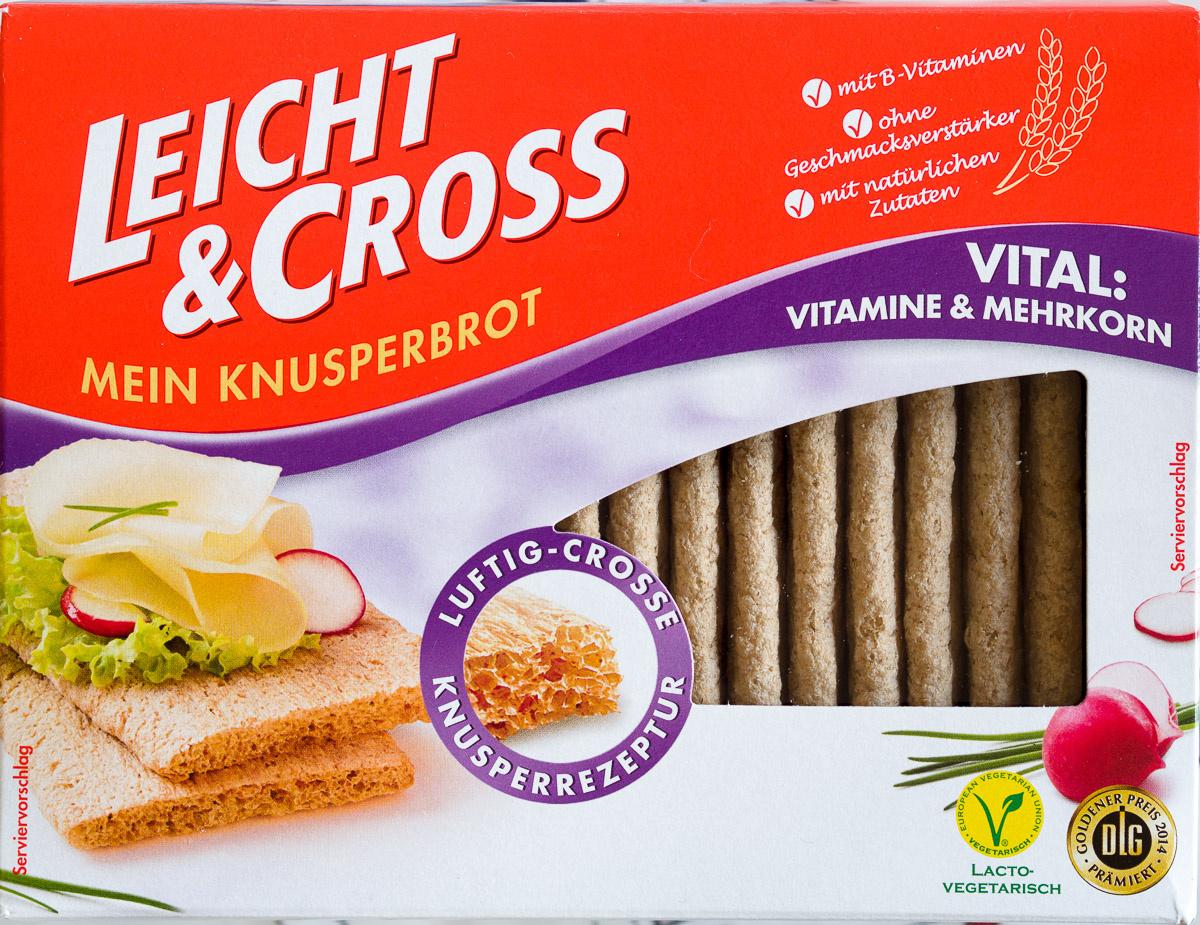 Gebäck - Knusperbrot - Vitamine & Mehrkorn - Produit - de