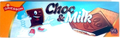 Choc & Milk - Product