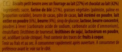 Choc & Milk - Ingredients - fr