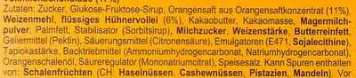 Soft Cake Orange Vollmilch - Zutaten - de