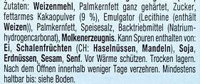 Decor Waffelbecher - Ingrédients - de
