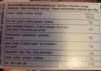 DeBeukelaer Decor on Ice Waffelbecher - Informations nutritionnelles - de