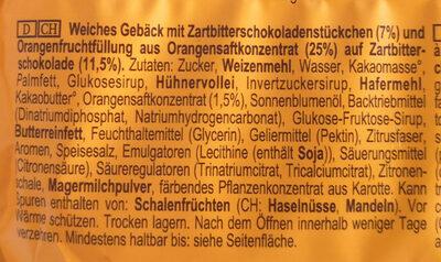 Soft Cake Cookie Orange - Ingredienti - de