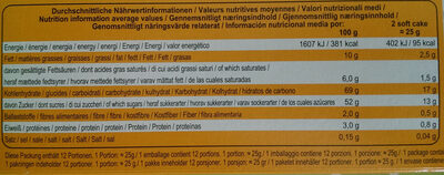 Soft Cake Himbeer - Nutrition facts