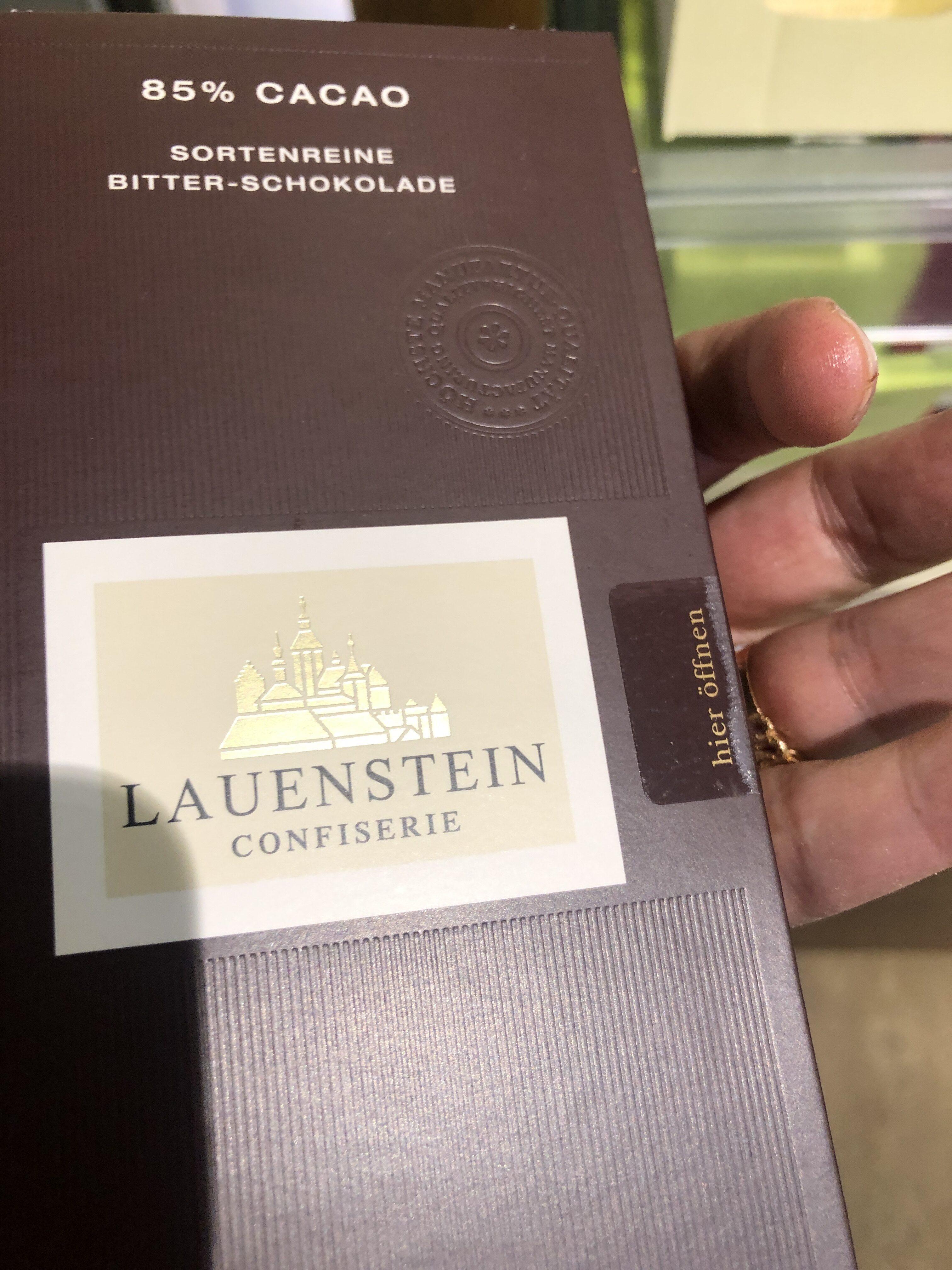 Sortenreine Bitter-Schokolade - Product