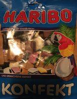 Haribo Konfekt 200G - Výživové údaje - de