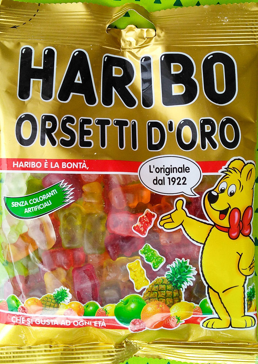 Goldbären - Prodotto