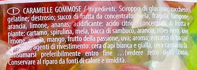 Goldbären - Ingredienti