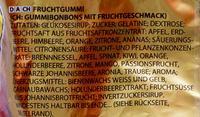Haribo Goldbären - Ingrediënten - de