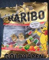 Haribo Goldbears - 100 G - 营养成分 - zh
