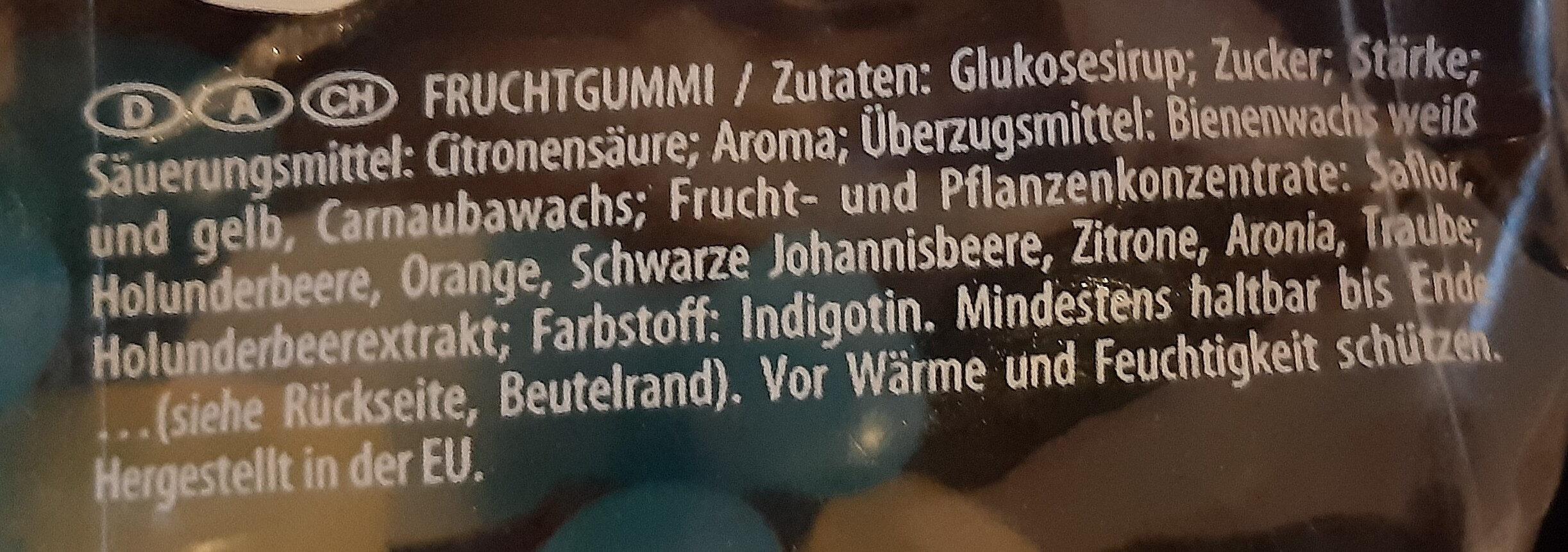 Haribo Die Schlümpfe - Zutaten - de