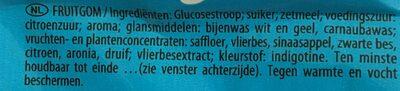 Les schtroumpfs - Ingrediënten - nl