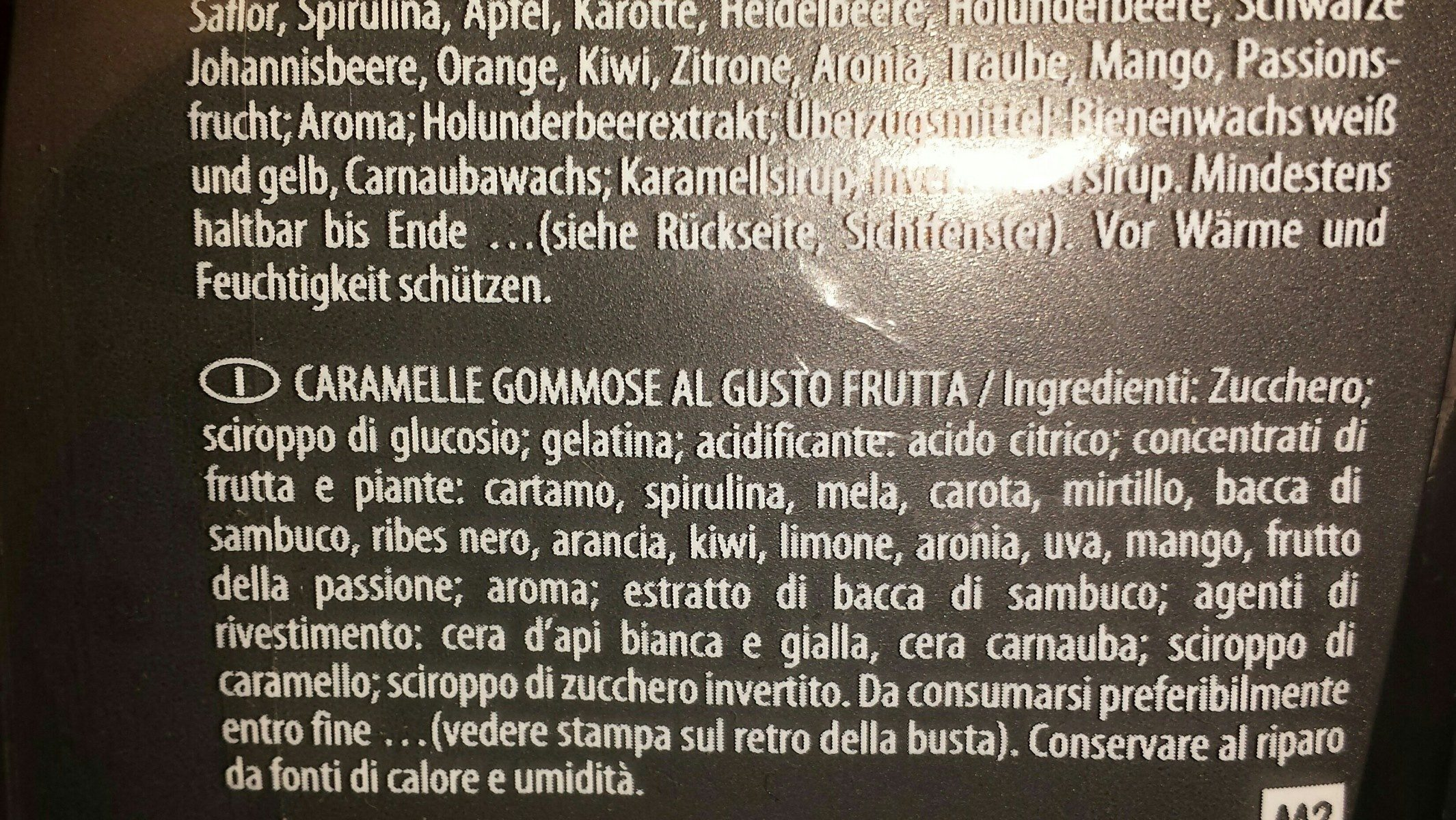 Haribo Tropifrutti 200G - Ingredients