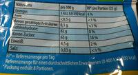 Tropicofrutti - Voedingswaarden