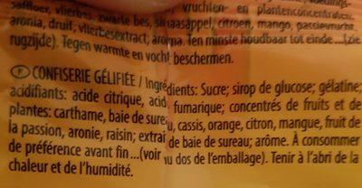 Haribo Pêches 30X75G - Ingrediënten