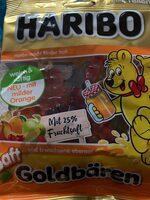 Haribo Saft Goldbären - Produit - de