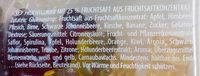 Haribo Saft Goldbären - Inhaltsstoffe