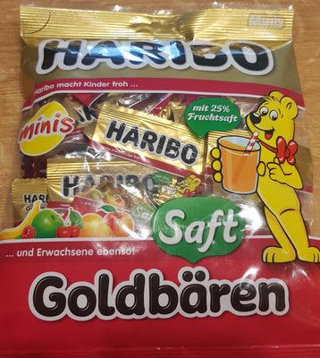 Haribo Saft-goldbären Minis - Produit - fr