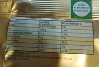 Haribo Saft-goldbären Minis - Informations nutritionnelles - fr