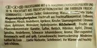 Haribo Fruitmania Joghurt - Zutaten - de