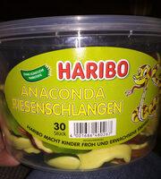 Haribo Anaconda Riesenschlangen, 30 Stück - Product - de