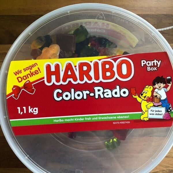 Haribo Color-Rado - Produit - de