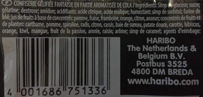 Fun mix - Ingredients - fr