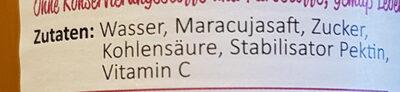 mein beckers bester - die Schorle Maracuja - Ingredienti - de