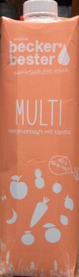 Multi Mehrfruchtsaft mit Karotte - Product