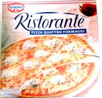 Ristorante pizza quattro fromaggi - Produit