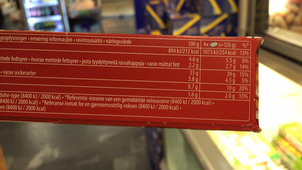 Bistro Mini Baguette Spéciale - Nutrition facts