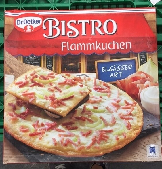 Bistro Flammkuchen Elsässer Art - Produit - fr
