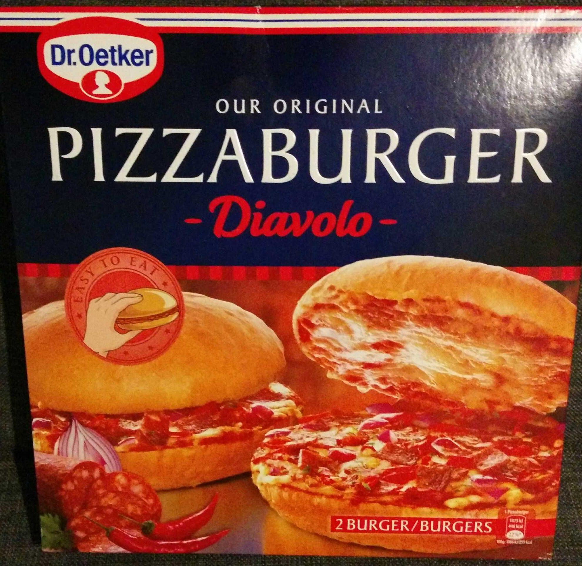 Pizzaburger Diavolo - Produit - de