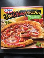 Dr. Oetker - Die Ofenfrische (Diavolo) - Produit