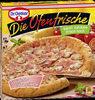 Die Ofenfrische Schinken-Champignons  Pizza - Produit