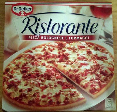 ristorante pizza bolognese e fromaggi dr oetker 375 g. Black Bedroom Furniture Sets. Home Design Ideas