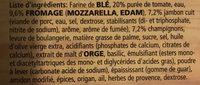 Dr. oetker Pizza Casa Di Mamma Prosciutto-funghi - Ingrediënten - fr