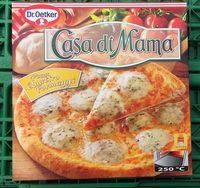 Dr. Oetker Pizza Casa Di Mamma Quattro Formaggi - Produit - fr