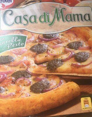 Pizza Mozzarella Pesto Casa di Mama - Product - fr