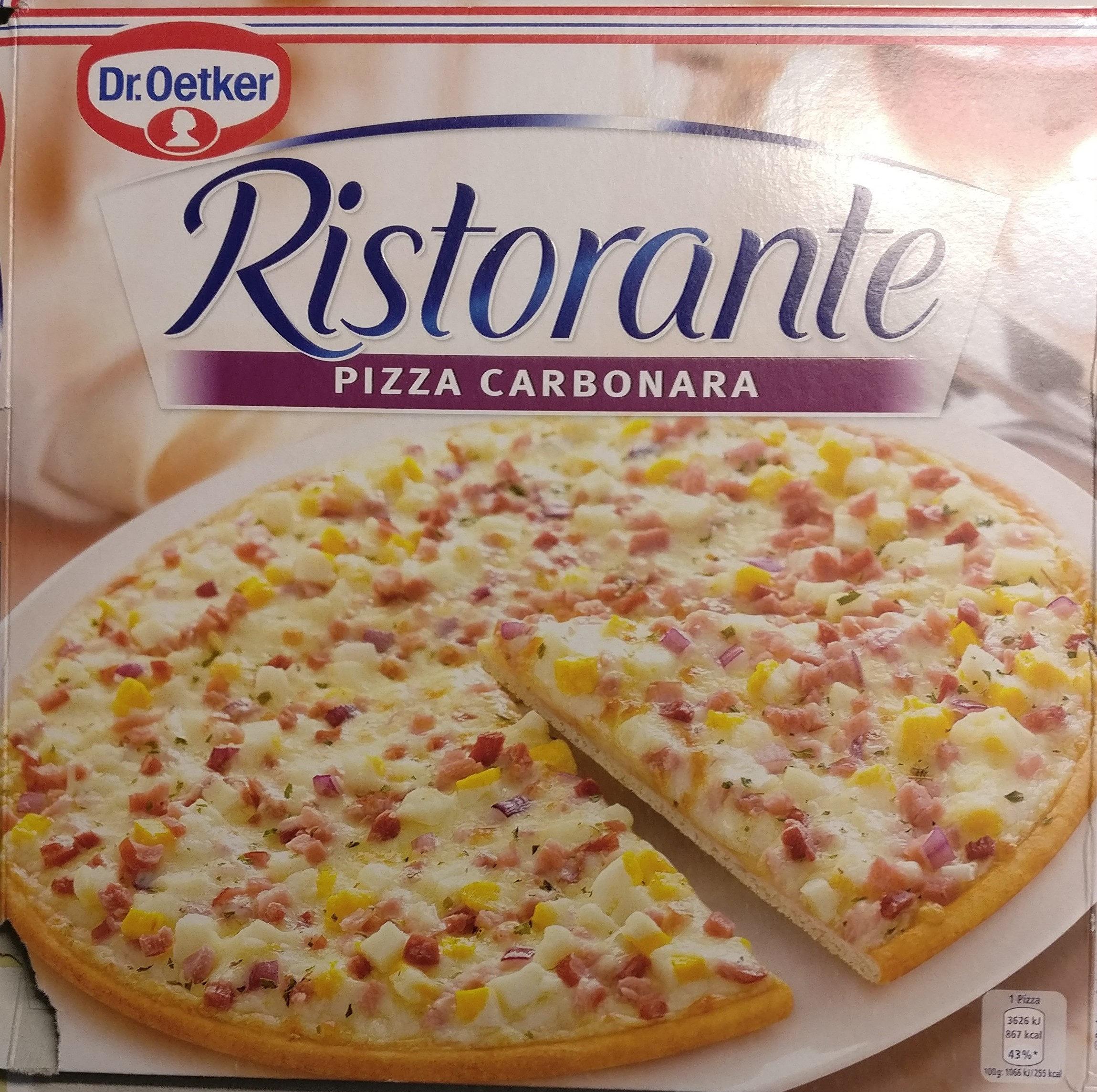 Pizza Ristorante Carbonara - Product - fr