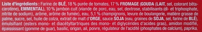 Delizza royale - Ingrediënten - fr