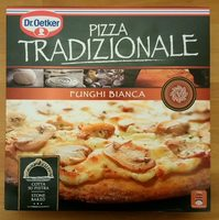 Pizza Tradizionale Funghi Bianca - Product