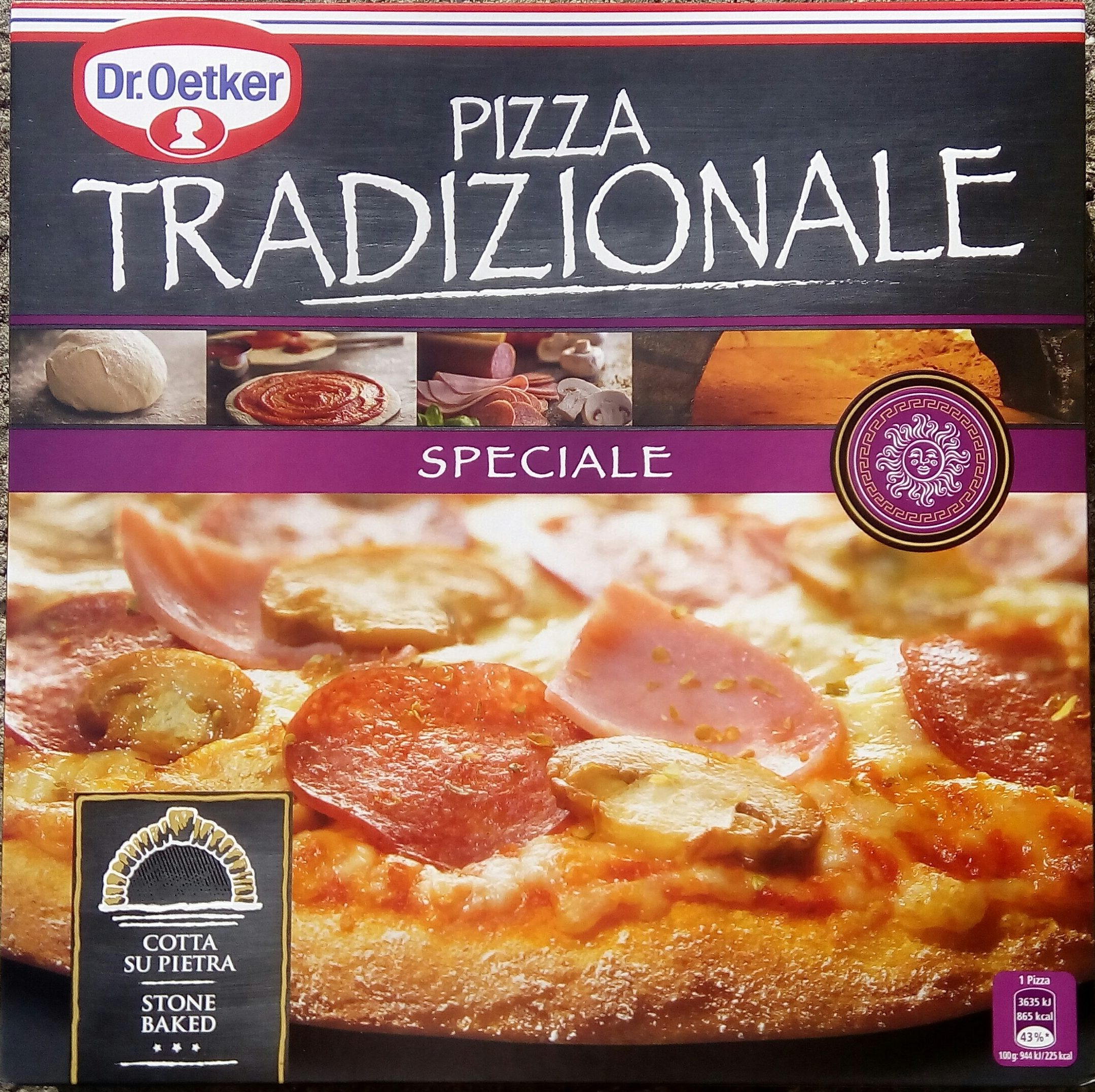 Dr. Oetker Pizza Tradizionale Speciale - Produkt
